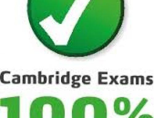 June Cambridge Result