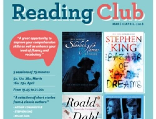 Reading Club – March/ April 2018